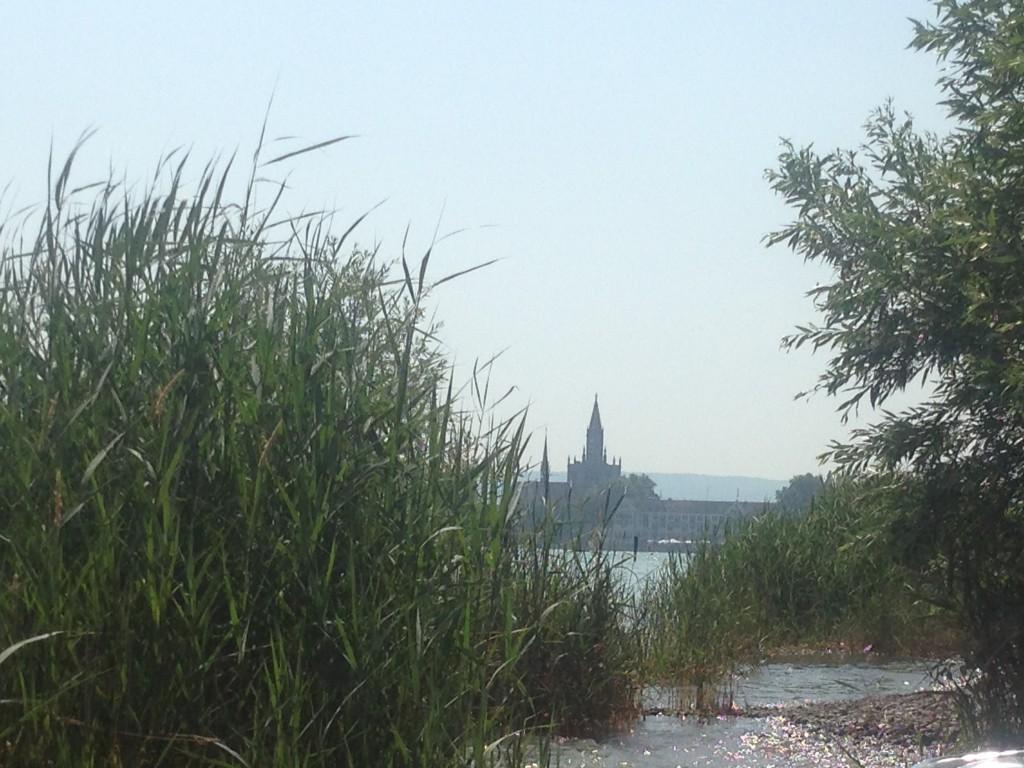 Badestrand Blick Münster