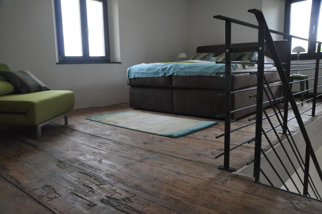 Schlafbereich Apartment 5