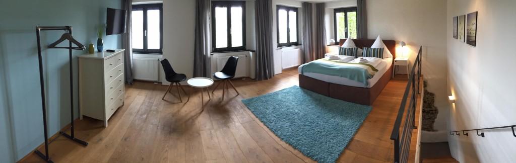 Schlafzimmer ohne Verdunklung