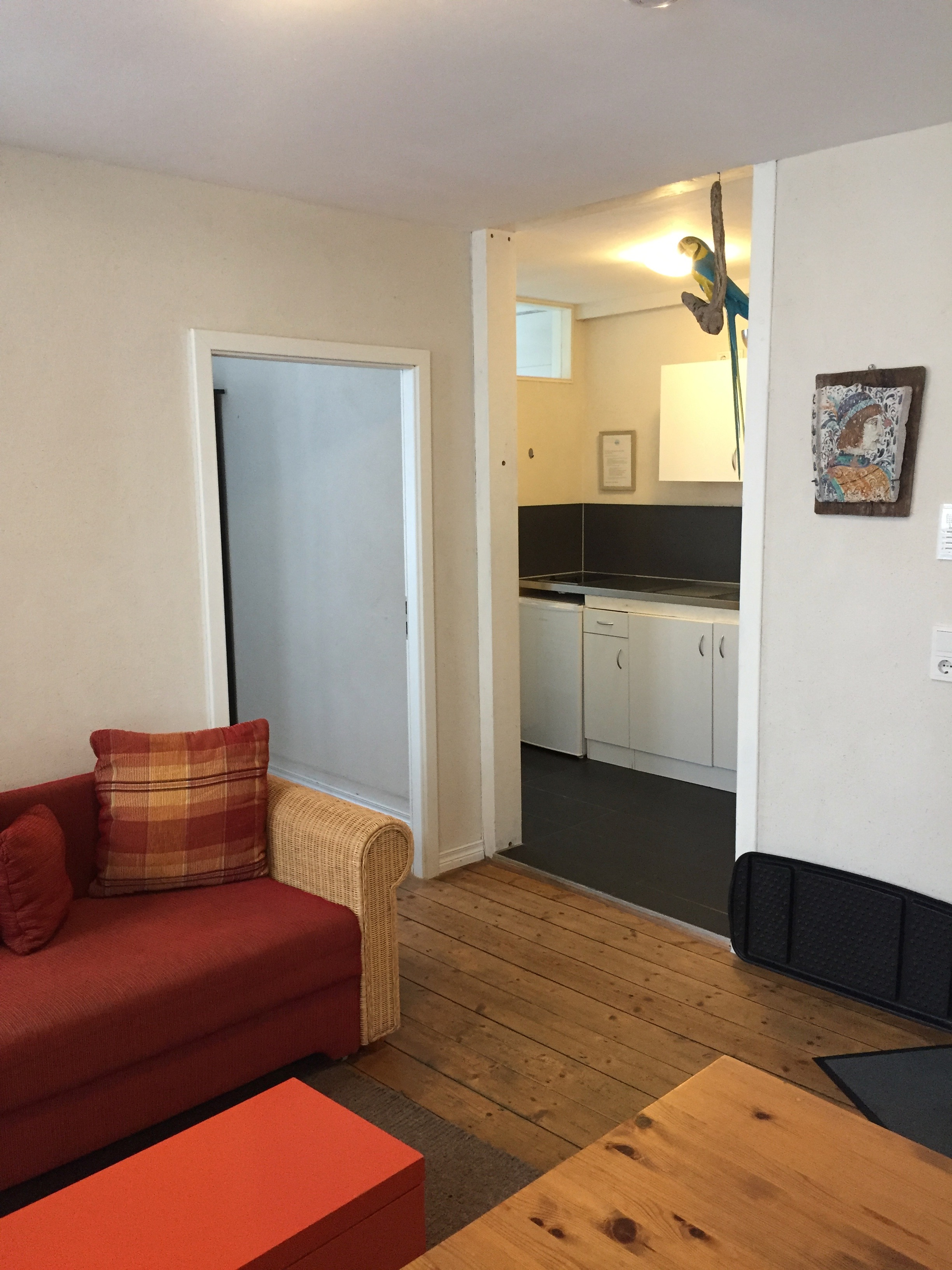 Wohnzimmer k che ferienwohnungen konstanz und insel for Wohnzimmer 45qm